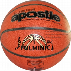 Pvc/PU Basketball laminated basketball