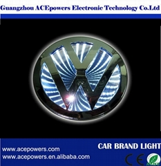 NEWEST BRIGHTEST 3W/5W/7W CAR LED AUTO EMBLEM 3D LOGO LIGHT SIPPLIER IN CHINA