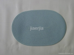 oval PP woven placemat