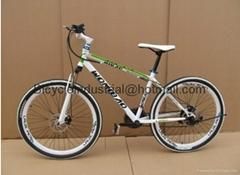 DHL Free shipping white 21 speed bike 26inch