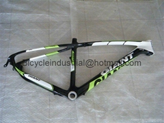 DHL free shipping Carbon bicycle frame 26*16.5/19/21 inch 1500g
