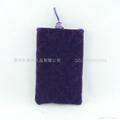 束口绒布手机袋 4