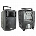 portable PA sound system with DVD USB SD