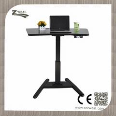 electric adjustable height study desk