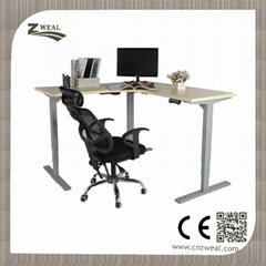 Office Electric adjustable height desk