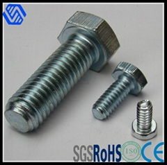8.8grade HDG Hex Bolt and Nut DIN933