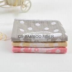 100 bamboo fiber baby face towel