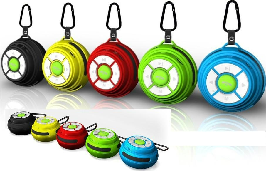pocket Mini Portable Bluetooth Speaker with TF Card Reader & Hook wireless Outd 2