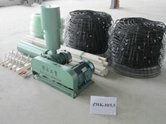 微孔曝氣增氧機 型號ZWK-10/5.5