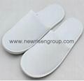 disposable velour hotel slipper