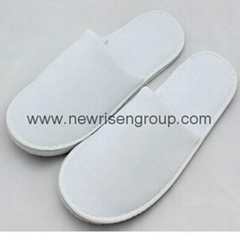 disposable velour hotel slipper