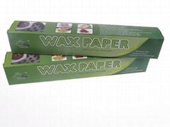 food grade wax paper roll