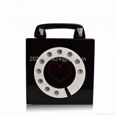 Telephone Box Acrylic Evening Bag 14051