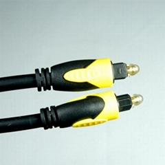 Plastic optical fiber cable
