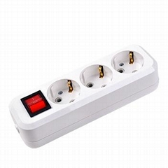 5 gang extension socket with switch and wire