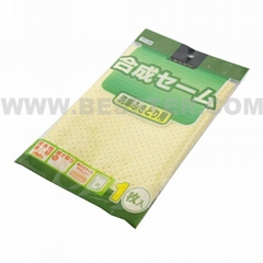 280gsm PU coated microfiber car polish cleaning towel