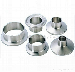 Sanitary stainless steel ferrules for clamp