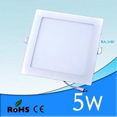 High Quality 5W LED Panel Light/Ceiling Light Square