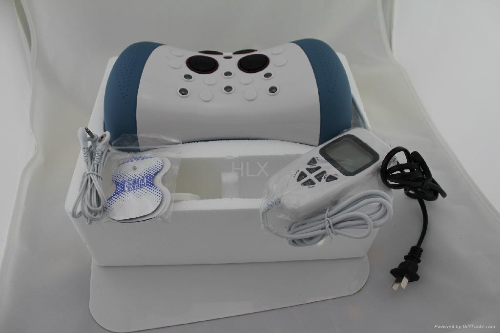 Digital Tens Massage Pillow Electric Cervical Vertebra Therapeutic Neck Massager 4