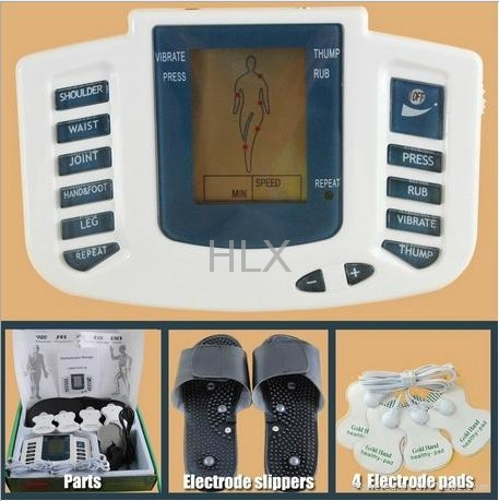 New Electrical Stimulator Full Body Relax Muscle Therapy Massager machine 1
