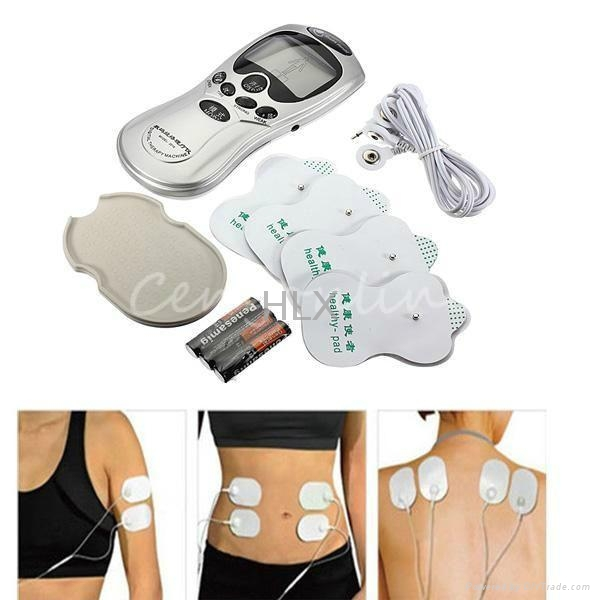 New Electrical Stimulator Full Body Relax Muscle Therapy Massager machine 4