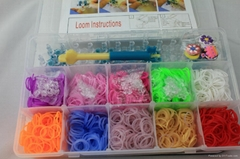 Rainbow Loom Kit DIY bracelet loom bands Bracelet Maker