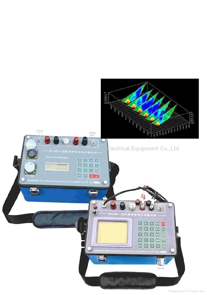 underground water detector duk-2a MultiElectrode Resistivity Survey
