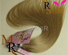 gray color double side seamless adhesives remy Tape weft in extensions retail