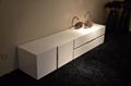 White high gloss MDF coffee table 5