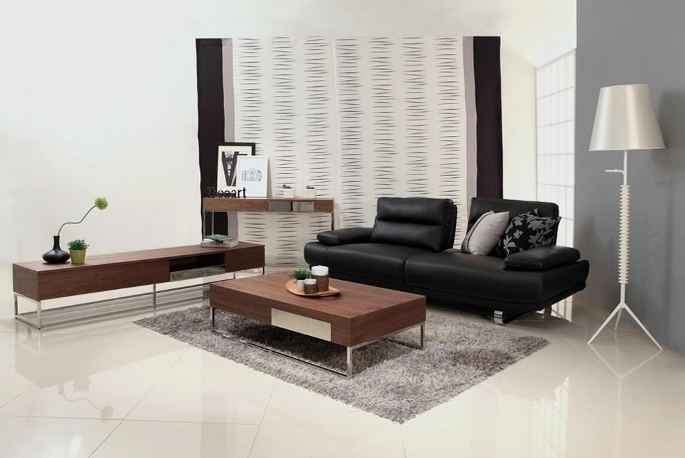 Walnut Veneer Mdf Living Room Furniture With Natural Finish 009 Bona China Manufacturer