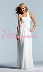 long chiffon evening dresses elegant bridesmaid dresses white dresses
