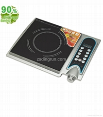 Induction stove knob control