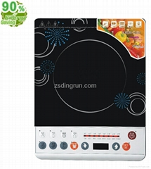 Button Induction cooker black crystal