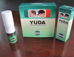 Natural Yuda hair regrowth spray for men without any side effects