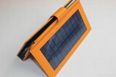 Solar keyboard holster