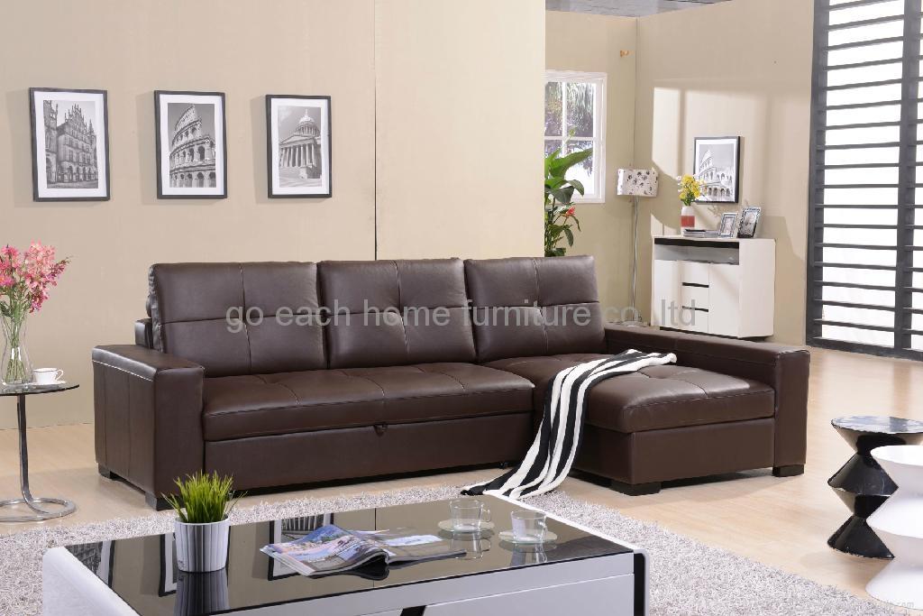 真皮沙发G017 1
