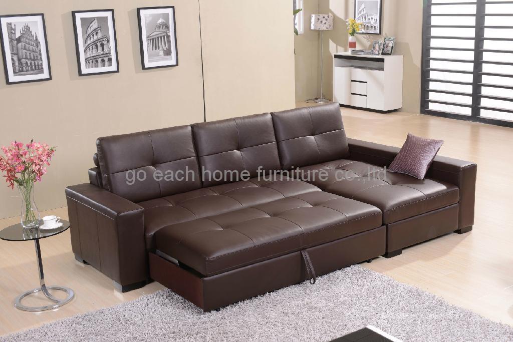 真皮沙发G017 2