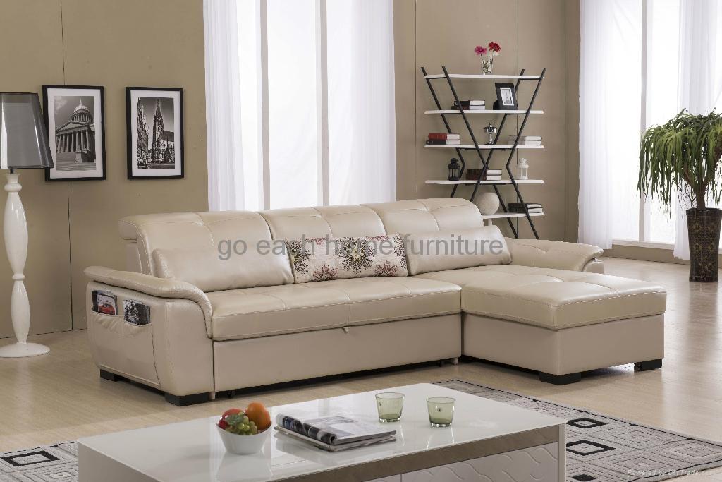 真皮沙发床G800 1