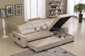 真皮沙发床G800 3