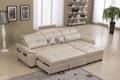 真皮沙发床G800 5