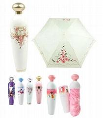 Perfume Plastic Bottle Umbrella