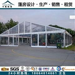 全透明PVC篷房