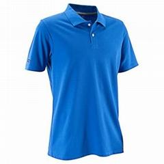 men fashion polyester running screen printing t shirt