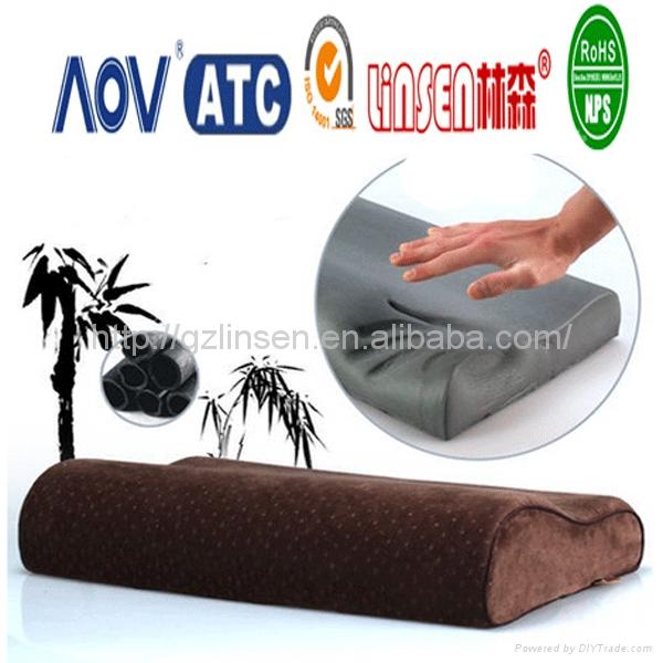 bamboo charcoal pillow memory foam 1