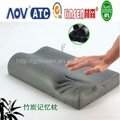 bamboo charcoal pillow memory foam