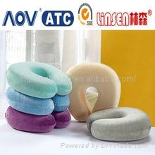 memory foam car travel neck pillow