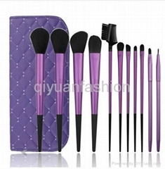 Professional makeup brush for cosmetic artist  for 11 psc