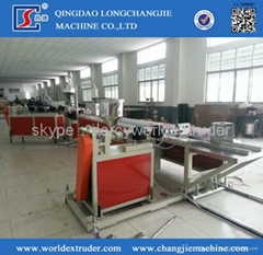 PVC door & window profile extrusion machine