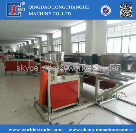 PVC door & window profile extrusion machine 1