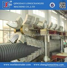 PE/PVC single/double wall corrugation